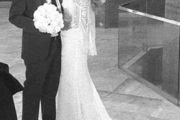 הילה ורונן אילוז ביום חתונתם