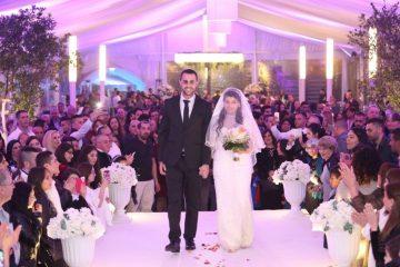 הזוג לימור ויוסי בהדריה בחתונת חורף